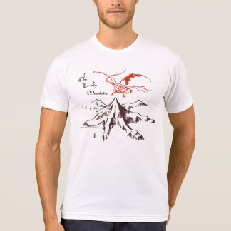 La montaña sola camiseta