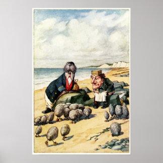 La morsa y el carpintero póster