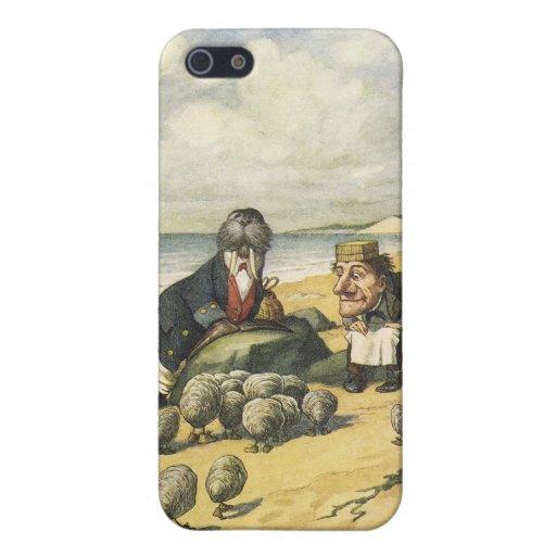 la morsa y el caso del iphone del carpintero iPhone 5 cárcasa