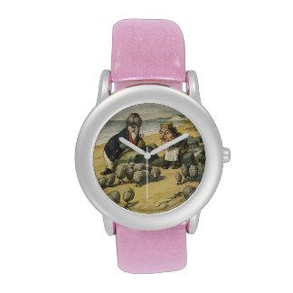 La morsa y el reloj del carpintero