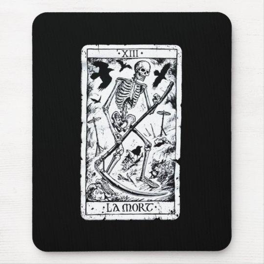 La Mort Tarot Card Mouse Pad