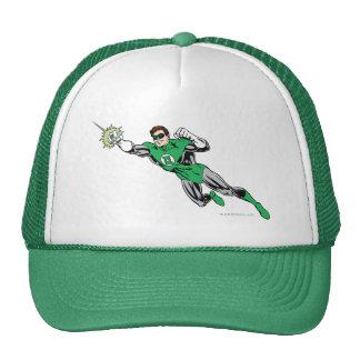La mosca de linterna verde salió de 2 gorras