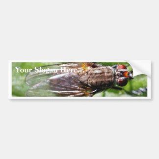 La mosca fastidia insectos pegatina para auto