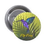 La mosca libera pin
