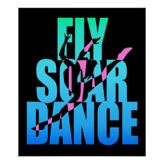 La mosca se eleva danza posters