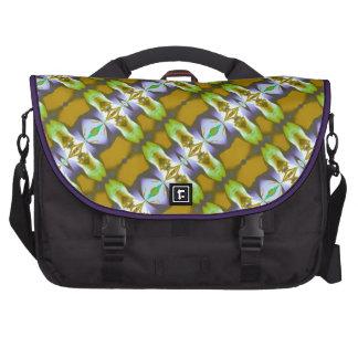 La mostaza verde violeta encadena el modelo bolsas de portatil
