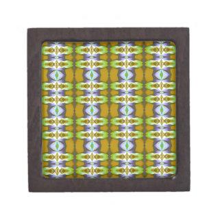 La mostaza verde violeta encadena el modelo caja de joyas de calidad