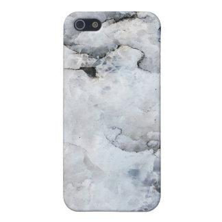 La mota de mármol cupo el caso de Shell duro para  iPhone 5 Funda