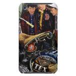 La motocicleta de Tex iPod Case-Mate Cárcasa