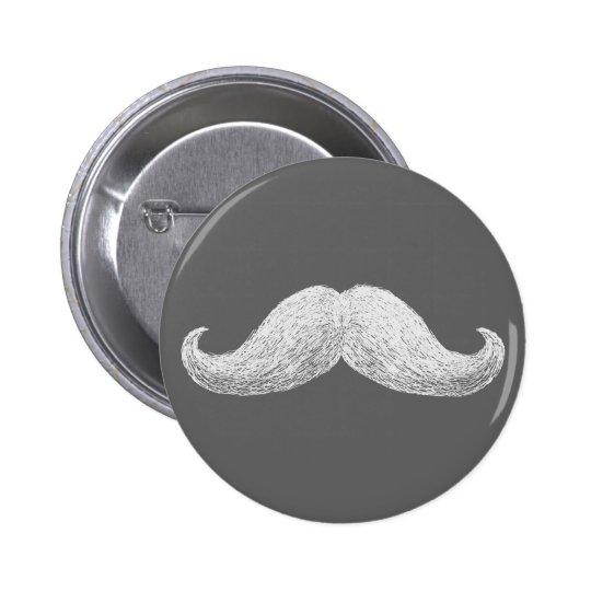 La Moustache (Dark) Button