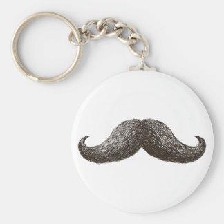 La Moustache (Light) Keychains