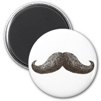 La Moustache (Light) Magnet