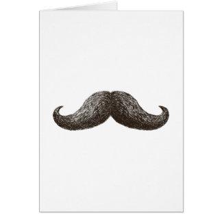 La Moustache (Vertical) Greeting Card