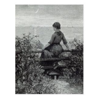 """La muchacha del Fisher, a partir de la """"hora del o Tarjetas Postales"""
