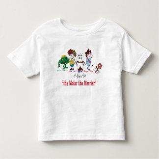 """""""La muela """" la camiseta más feliz del niño del ®"""