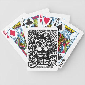 """""""La Muerta """" Baraja Cartas De Poker"""
