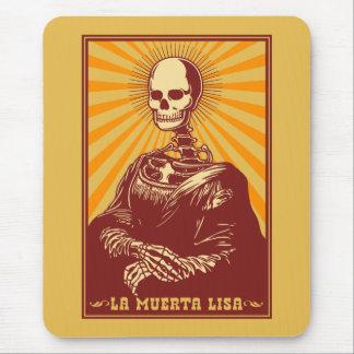 La Muerta Lisa Mouse Pad