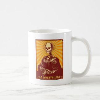La Muerta Lisa Mugs