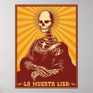 La Muerta Lisa Posters