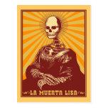 La Muerta Lisa Postcard