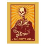 La Muerta Lisa Tarjeta Postal