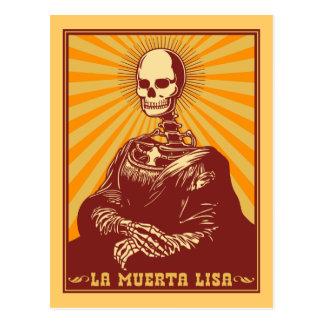 La Muerta Lisa Tarjetas Postales