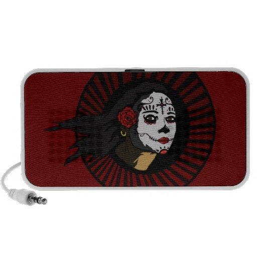 """""""La Muerta"""" on RED  Speakers"""