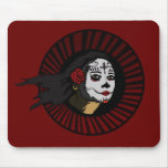 """""""La Muerta"""" on RED Unholy Uprising Collection Mouse Pad"""