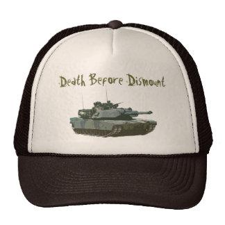 La muerte antes desmonta gorras de camionero