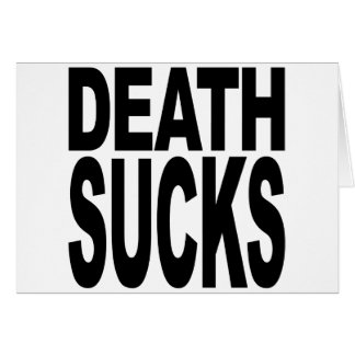 La muerte chupa tarjeton
