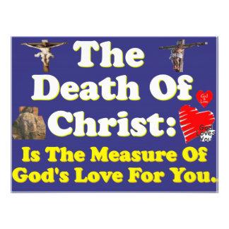 La muerte de Cristo: ¡La medida del amor de dios Cojinete