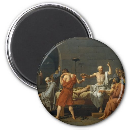 La muerte de David de Sócrates Imanes De Nevera
