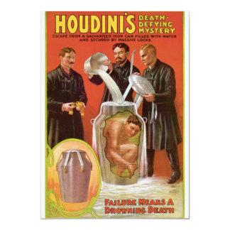 """La muerte de Huodini que desafía a Mystery, poster Invitación 5"""" X 7"""""""