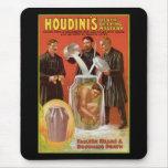 La muerte de Huodini que desafía a Mystery, poster Alfombrillas De Raton