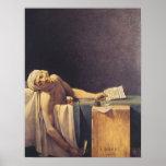 La muerte de Marat Poster