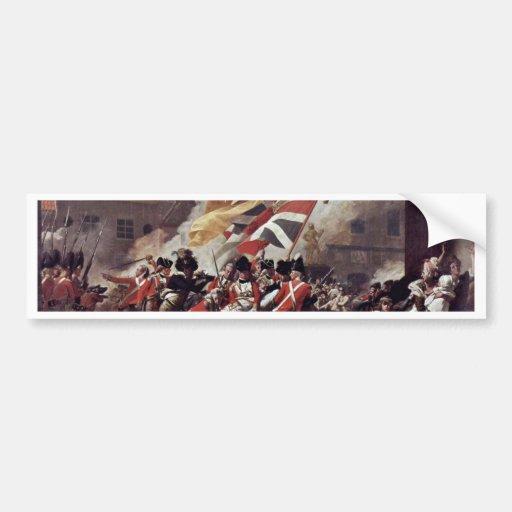 La muerte de Peirson importante de John Singleton  Etiqueta De Parachoque