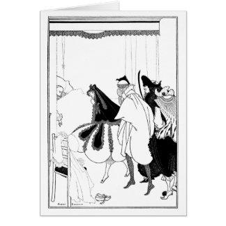 La muerte de Pierrot Tarjeta De Felicitación