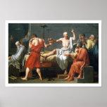 La muerte de Sócrates de Jacques-Louis David Impresiones