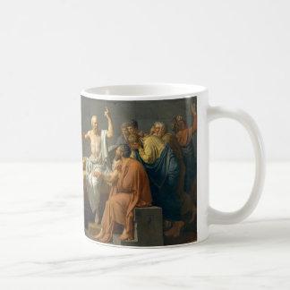 La muerte de Sócrates de Jacques-Louis David Taza De Café