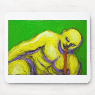 La muerte de Sócrates (retrato del expresionismo) Alfombrilla De Raton