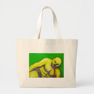 La muerte de Sócrates (retrato del expresionismo) Bolsas Lienzo