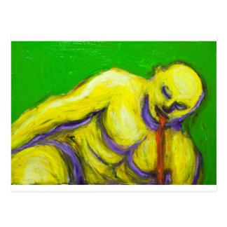 La muerte de Sócrates (retrato del expresionismo) Postales