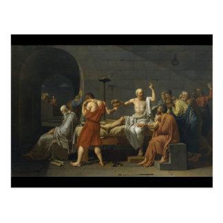 La muerte de Sócrates Postales