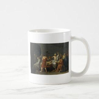 La muerte de Sócrates Taza De Café