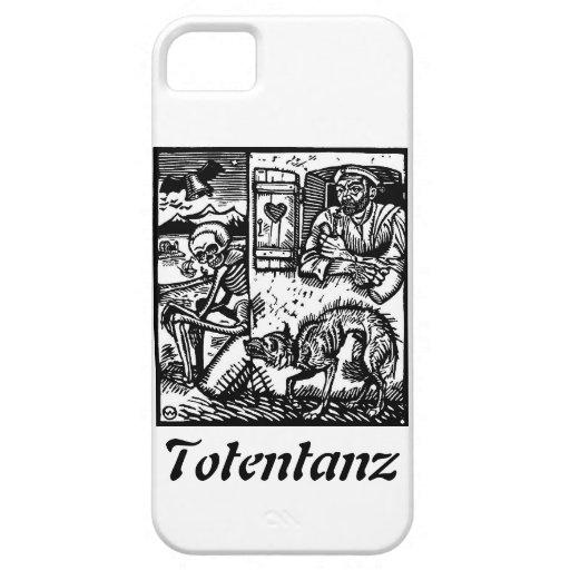 La muerte de Totentanz espera el caso del iphone 5 iPhone 5 Carcasa