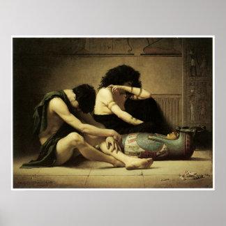 La muerte del primogénito, 1877 póster
