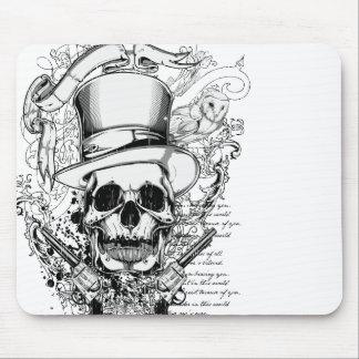 La muerte es un cojín de ratón del vaquero tapete de raton