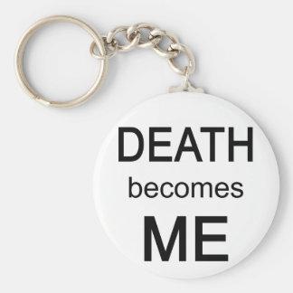 La muerte me siente bien llaveros