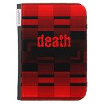 la muerte roja y negra enciende la caja