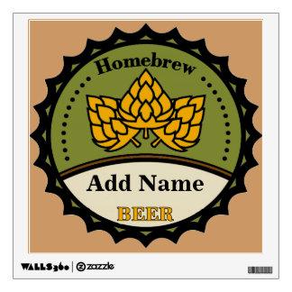 La muestra de la cerveza del brew casero, corrige vinilo